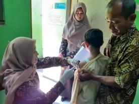 Pelaksanaan BIAS (Bulan Imunisasi Anak Sekolah)  oleh Puskesmas Tegalrejo Kota  Yogyakarta Tahun  2019