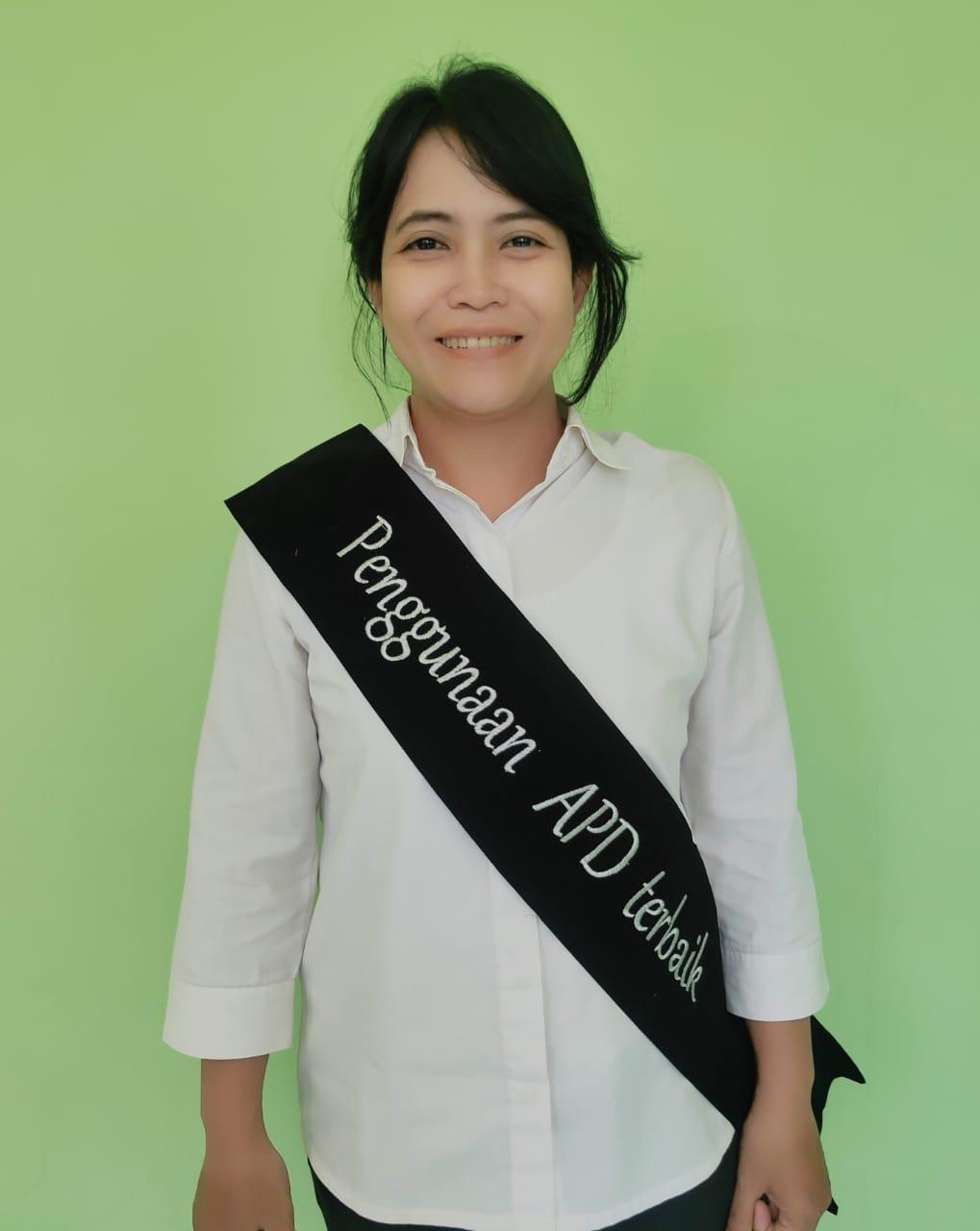 Karyawan Penggunaan APD Terbaik (dr Theresia Ari Kristanti)